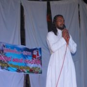 Fr.Thejus conducting Christmas Program, Mapranam