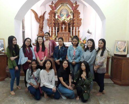 Fr. Binesh and team